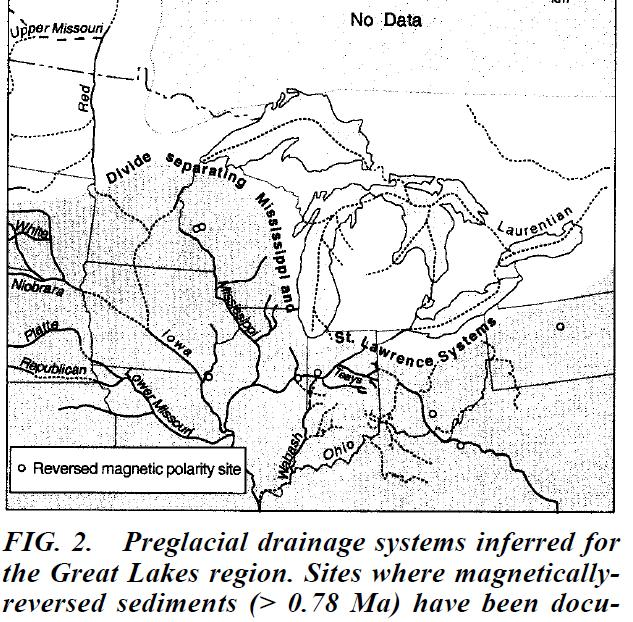 The Great Lakes Map