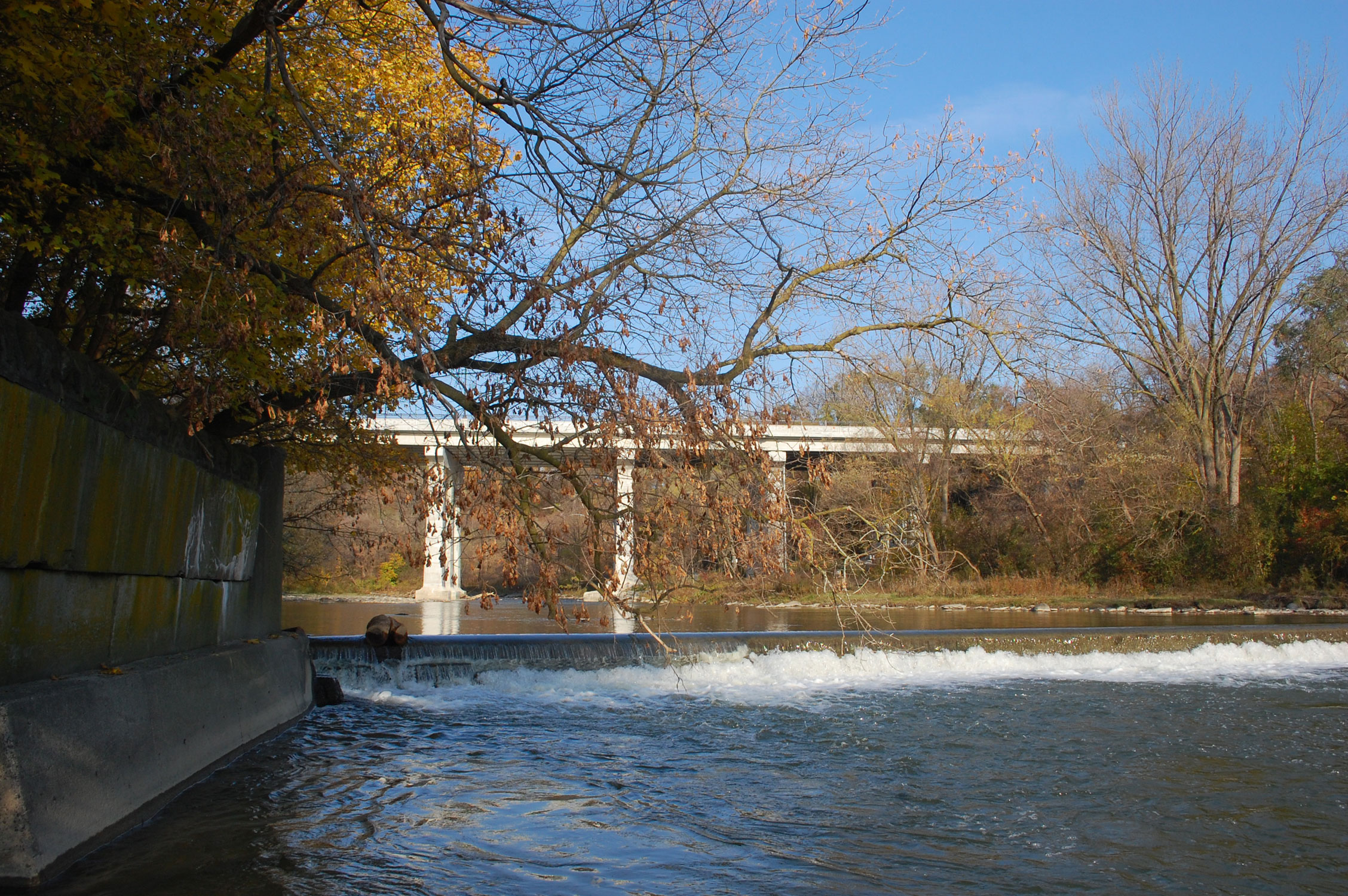 The Dundas Humber River Bridge